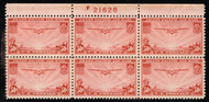 #C 22 VF/XF OG NH, nice top, Fresh!