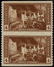 # 743a XF-SUPERB OG NH, w/PF (05/06,   12/82 and 04/76) CERTS, with brown paper affixed to back, only 15 known, VERY RARE!