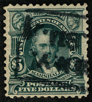 # 313 VF, well centered, strong deep color,  FRESH!