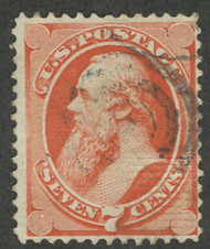 # 138 F/VF, face free cancel, a very nice looking stamp, Super!