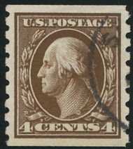 # 395 SUPERB, w/PSAG (GRADED 98 (01/21)) CERT, a showpiece, faintly canceled, fresh white paper, ONLY 1 listed on PSE population!   GEM!