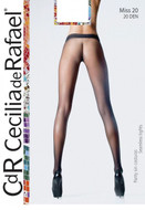 Seamless Pantyhose No Gusset No Seams Miss 20 Sheer Matte Finish CdR