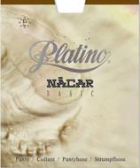 Semi Gloss Pantyhose Nacar Basic 15 Denier Tights Hosiery by Platino