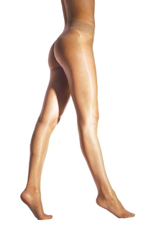 Cecilia de Rafael CDR Libero Seamless pantyhose nylons hosiery shiny glossy