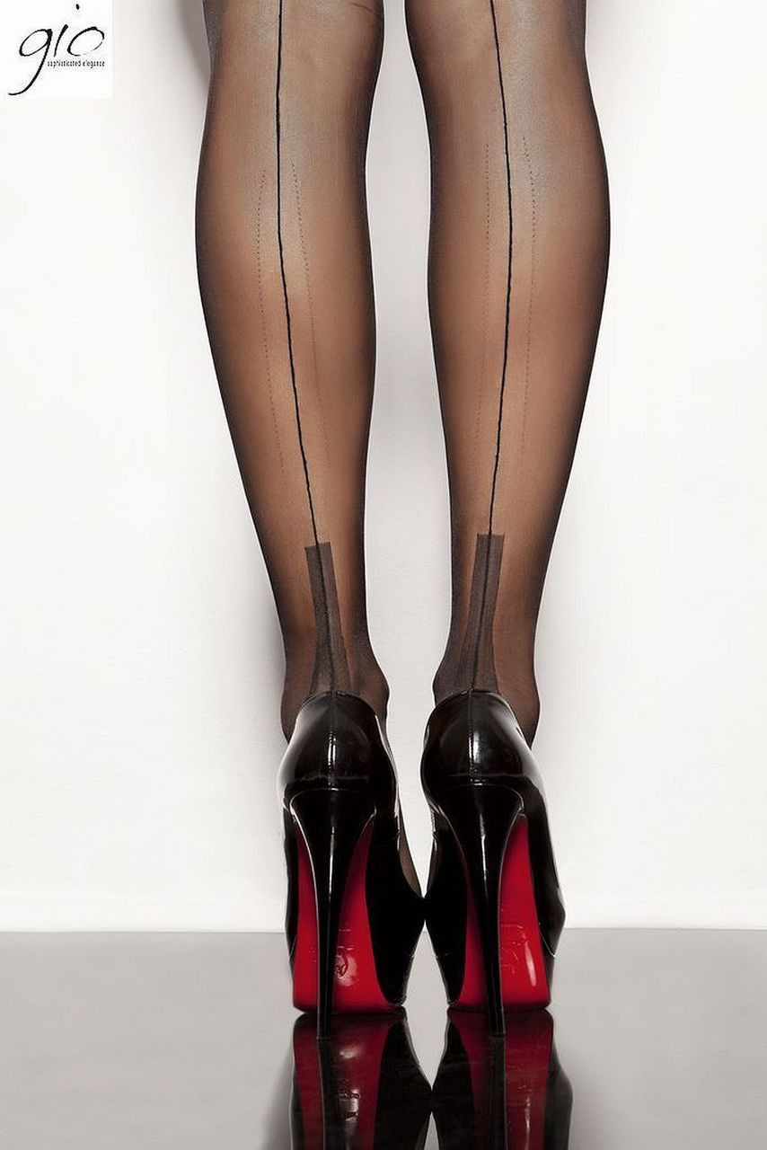 PERFECTS Gio Fully Fashioned Stockings All Colours /& Sizes MANHATTAN Heel