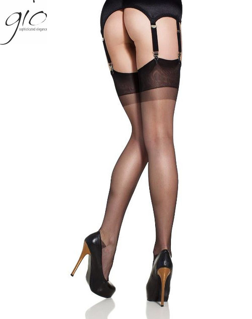 Gio RHT Nylon Stockings Hosiery Black