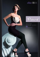 Fiore Anette 120 Denier 3D Microfiber Hosiery Fashion Leggings