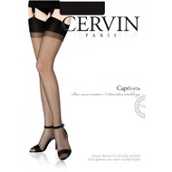 CERVIN Capri  10 Denier RHT Stockings French Luxury Nylons