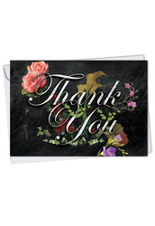 C2358ATY - Chalk And Roses: Printed Card