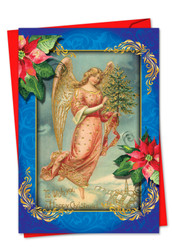 1747AXS - Christmas Angels: Greeting Card