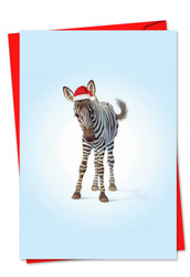 6726AXS - Christmas Zoo Babies: Paper Card