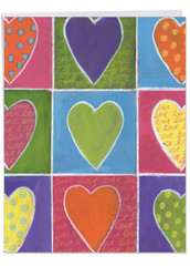 J6047AMD - From The Heart: Large Printed Card