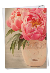 C6553DTY - Full Blooms: Note Card
