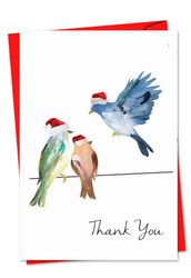 3318IXT - High Wire Birds: Greeting Card