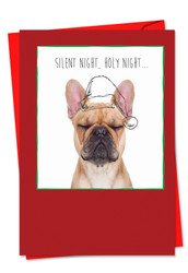 6582AXS - Holiday Dogs & Doodles: Note Card