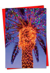 3273DXS - Holiday Palms: Printed Card
