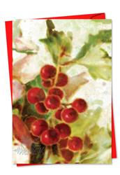 6062GXT - Holly Days: Printed Card