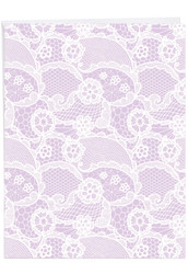 J6560FTY - Lacy Days: Giant Printed Card