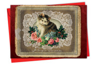 1760AXS - Lacy Holidays: Greeting Card