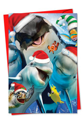 6652EXS - Merry Christmas To Zoo: Paper Card
