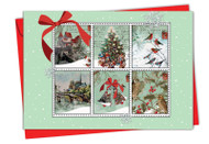 9629EXS - Merry Mail: Paper Card