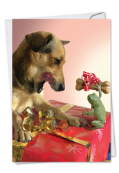 Puppy Love, Printed Anniversary Note Card - C6546IANG