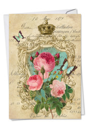 C2379ABD - Romance And Roses: Paper Card