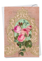 C2379EMD - Romance And Roses: Paper Card