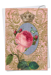 C2379FVD - Romance And Roses: Printed Card