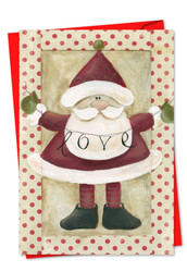 C6659BXS - Santa Banners: Greeting Card