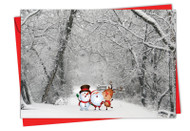 6716BXS - Santa Paths: Greeting Card