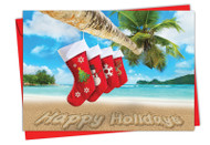 6651JXS - Season's Beachin': Greeting Card