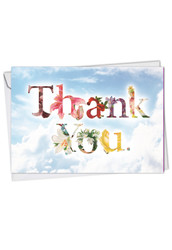 Thanks A Bunch, Printed Thank You Greeting Card - C2359ATYG