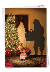 6665EXT - Visions Of Christmas: Printed Card