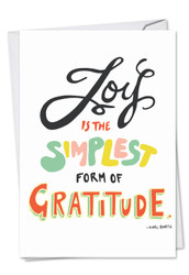 C9633GTY - Words Of Appreciation: Note Card