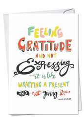 C9633ITY - Words Of Appreciation: Printed Card