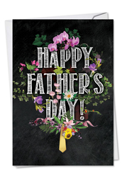 C2358FFD - Chalk And Roses: Printed Card