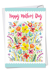 Garden Delights, Printed Mother's Day Note Card - C6562GMDG