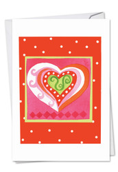 C6725HVD - Art Hearts: Greeting Card