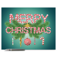 J9620AXS - Christmas Greetings: Extra Large Greeting Card