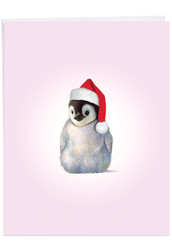 Zoo Babies, Extra Large Christmas Greeting Card - J6726BXSG