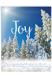 Holiday Devotions, Jumbo Christmas Greeting Card - J6661HXSG