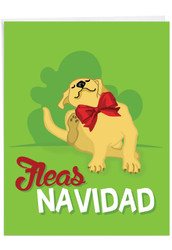 J6737GXS - Merry Pets: Over-sized Paper Card