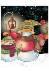 J6657GSG - Snow Pals: Big Greeting Card
