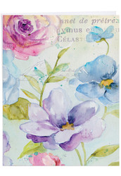 Cool Blossoms, Jumbo Get Well Note Card - J1708AGWG
