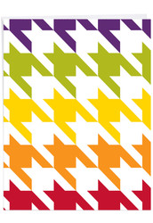 J6559FTY - Nothing But A Houndstooth: Extra Large Greeting Card
