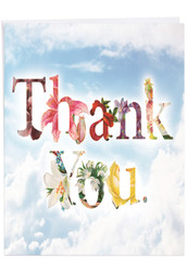 Thanks A Bunch, Extra Large Thank You Note Card - J2359ATYG