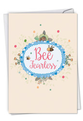 C6548DGD - Let It Bee: Greeting Card