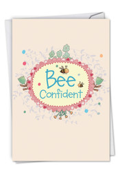 C6548EGD - Let It Bee: Printed Card