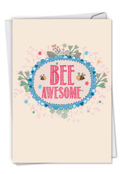 C6548HGD - Let It Bee: Paper Card